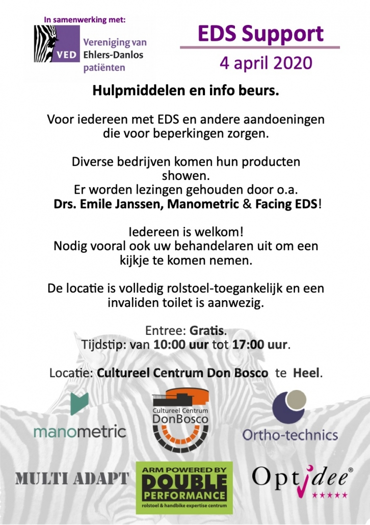 Dutch Event Flyer for EDS Conference