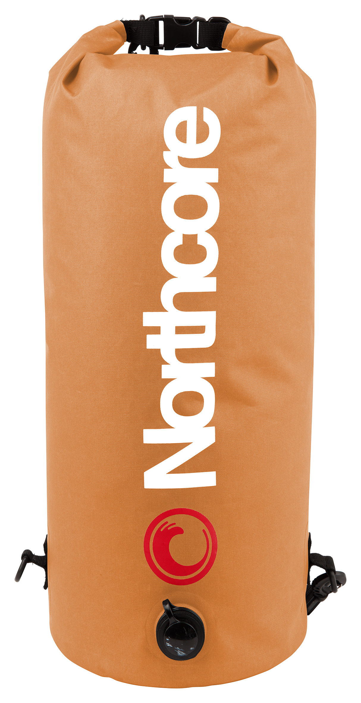 Northcore Waterproof Compression Bag - 20 Litres Orange Colour
