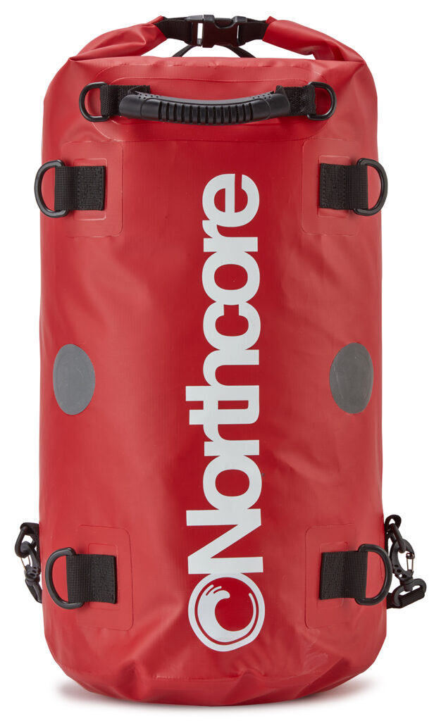 Northcore Dry Bag - 40 Litres Backpack: Red