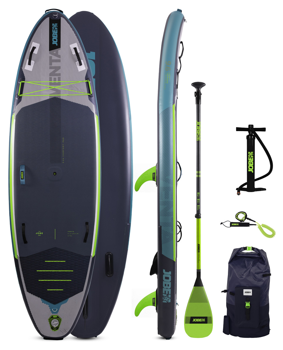 JOBE VENTA 9.6 INFLATABLE PADDLE BOARD PACKAGE 2021