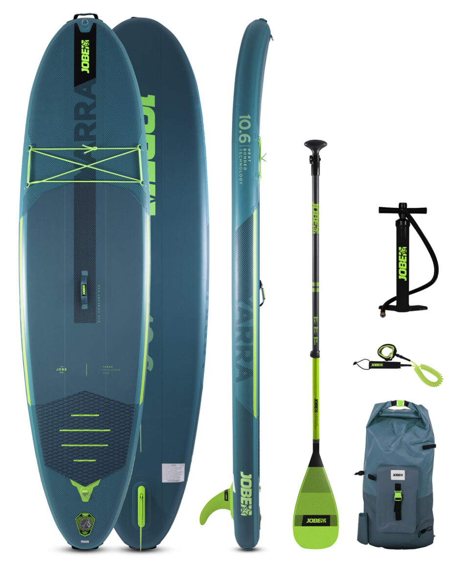 JOBE YARRA 10.6 INFLATABLE PADDLE BOARD PACKAGE TEAL 2021