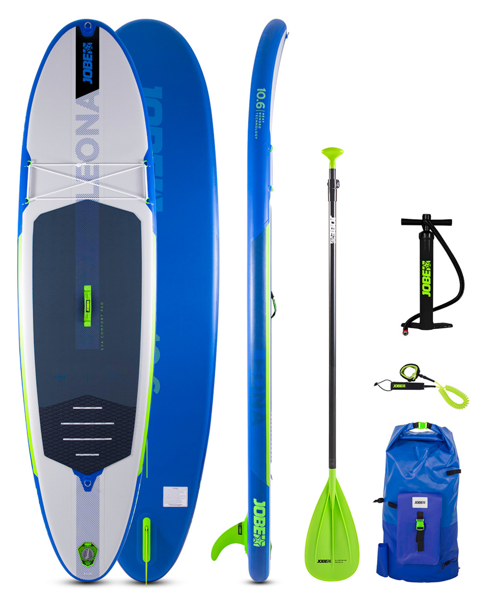 JOBE LEONA 10.6 INFLATABLE PADDLE BOARD PACKAGE 2021