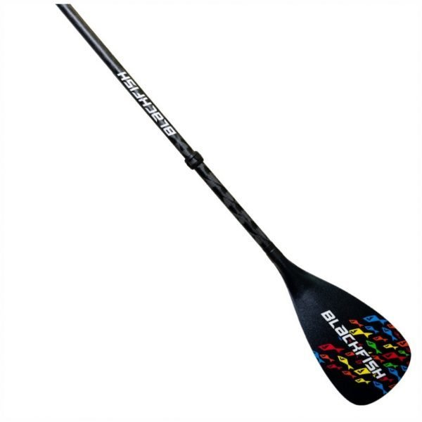 Blackfish Nootka Fishskin Black 2pc Adjustable Paddle