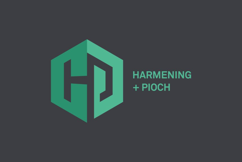 Harmening + Pioch Logo