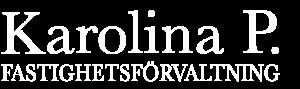 Karolina P Fastighetsförvaltning Logotyp