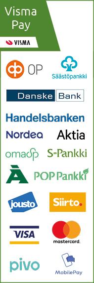 Maksutavat Käsinetori.com verkkokaupassa