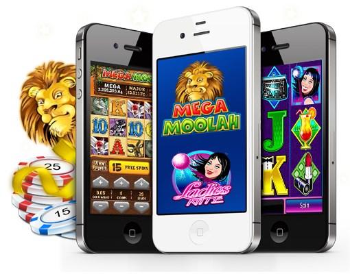 Spela slots på mobilen