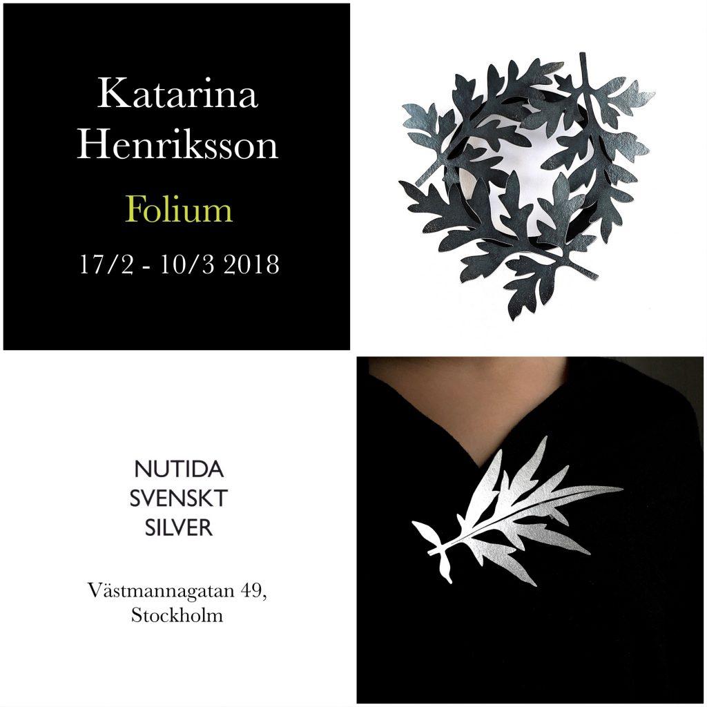 Katarina Henriksson 2018 utställning