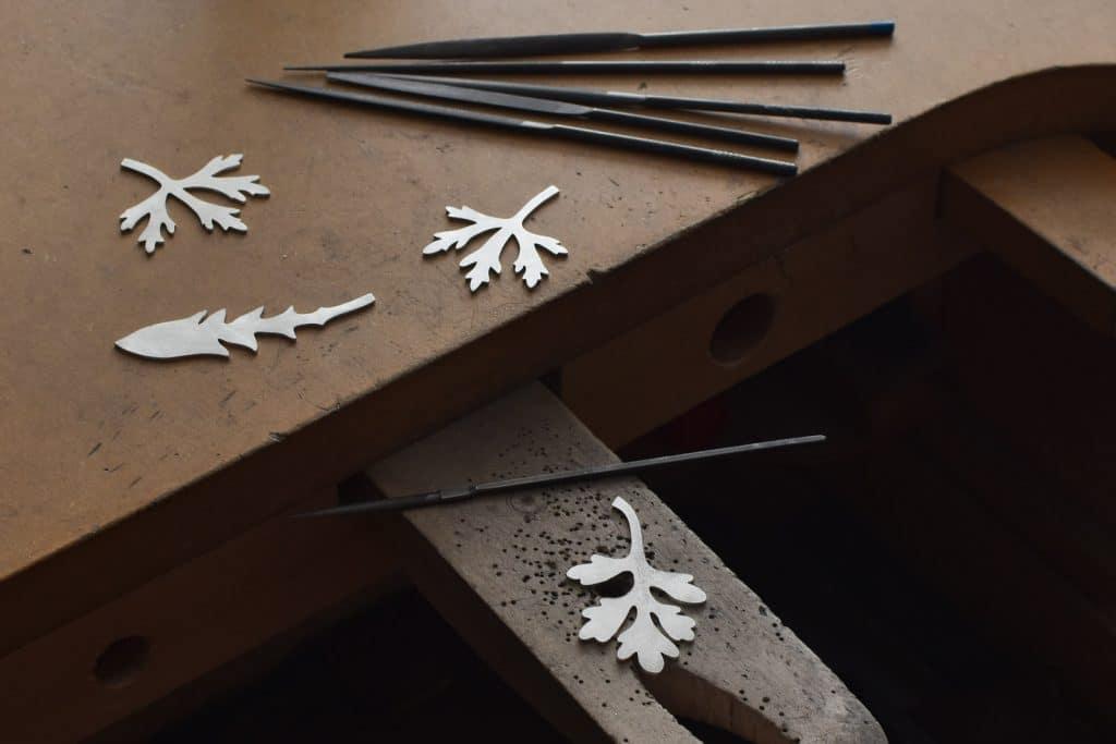 Tillverkning av silversmycken