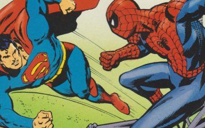 Fra Reolen: Superman Vs Edderkoppen