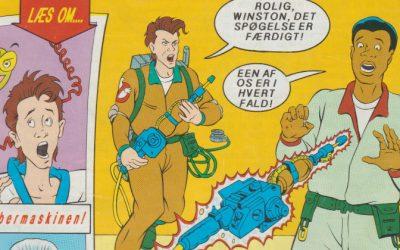 Fra Reolen: Ghostbusters nr. 3/89
