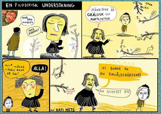 Hobbes, En filosofisk undersökning för Modern Filosofi av Kati Mets