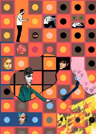 illustrationom samspel