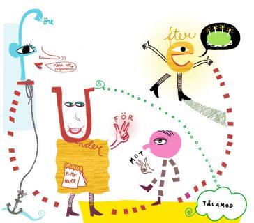 illustration tidningen Vision, Kati Mets