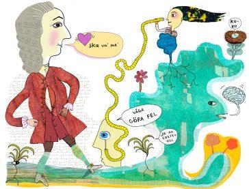 Illustration om kreativitet, av Kati Mets