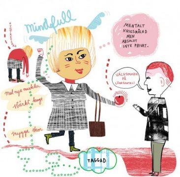 Illustration om lönesamtal