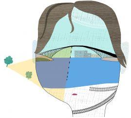 Arkitekten, illustration om ungdomars suicid, illustration Kati Mets