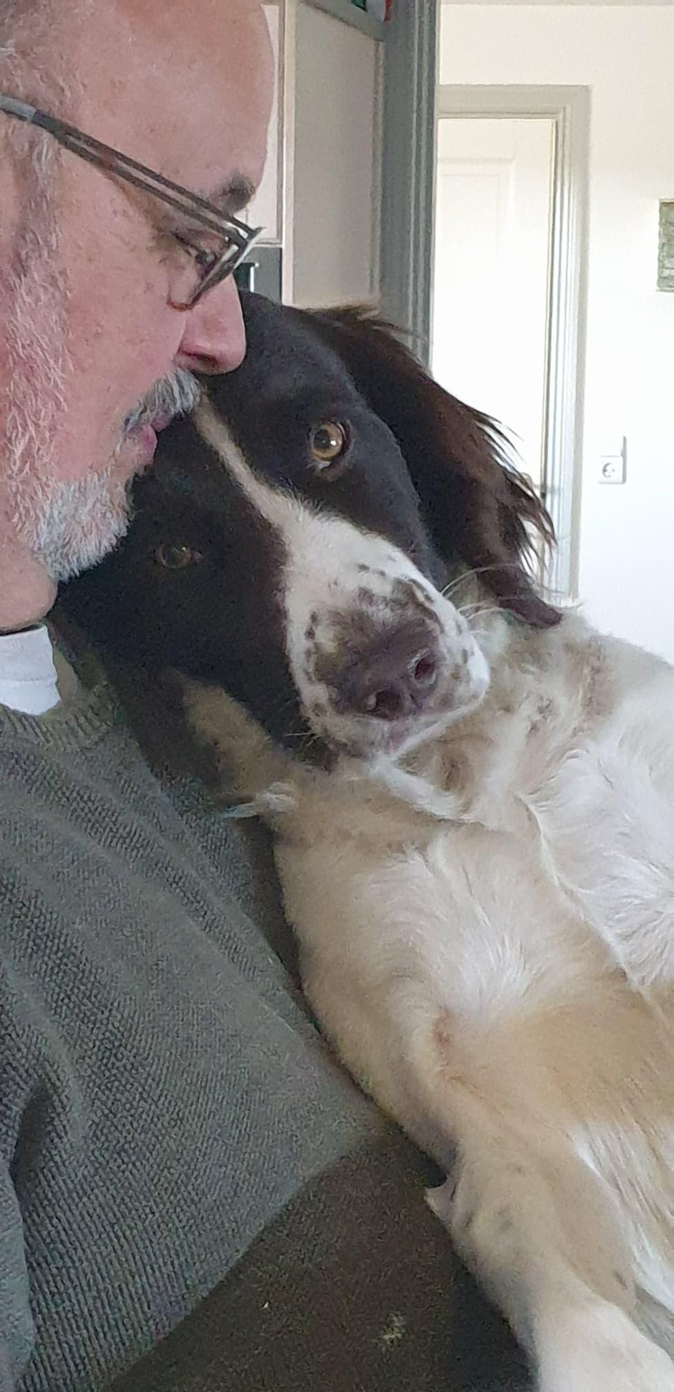 Henning med hund