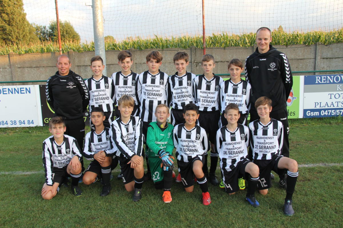 U13-ploegfoto