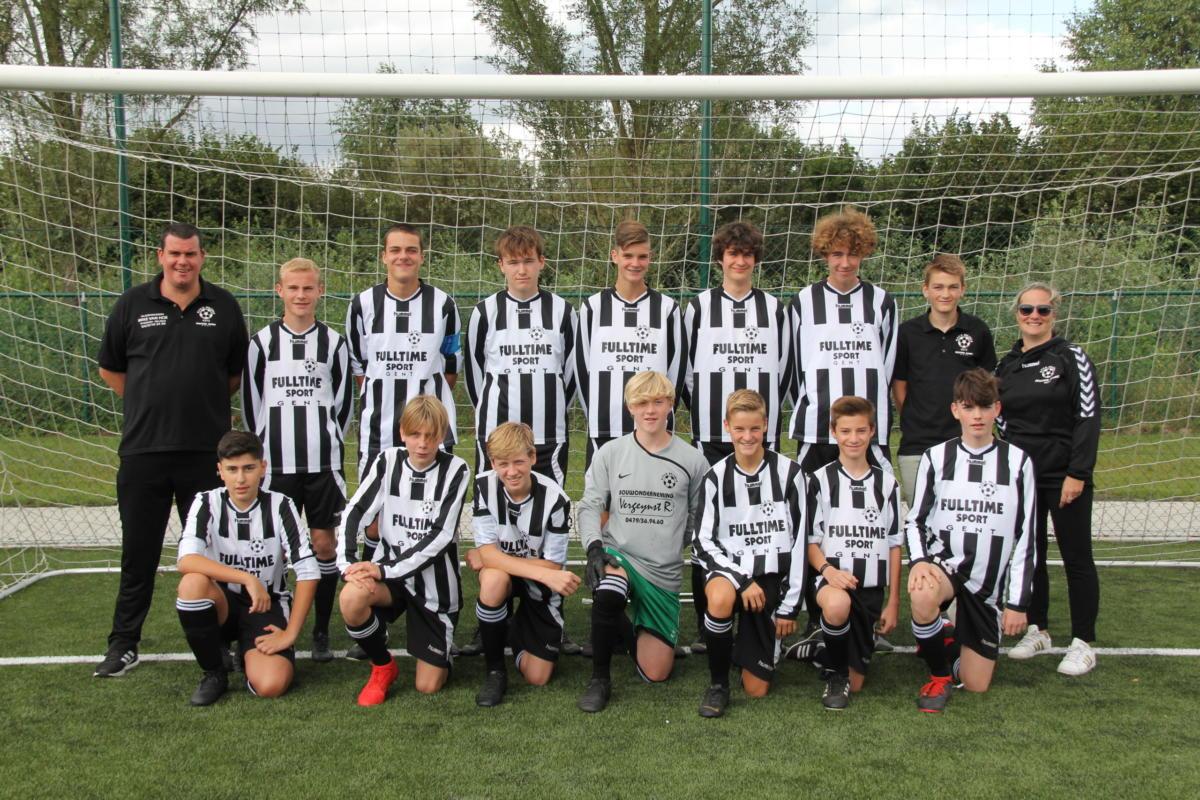 U17-ploegfoto