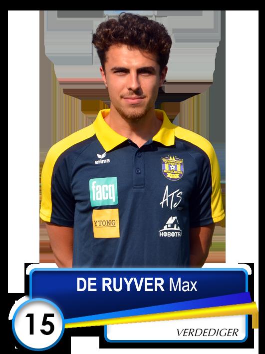 15 DE RUYVER Max