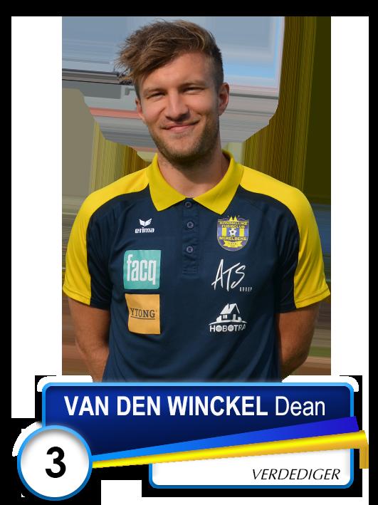 3 VAN DEN WINCKEL Dean