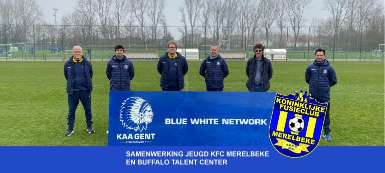 KFC Merelbeke jeugdwerking start samenwerking met Buffalo talent center
