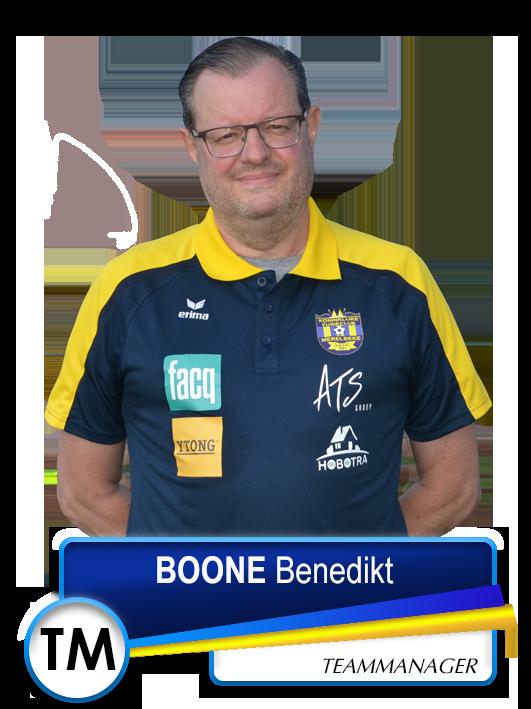TM BOONE Benedikt