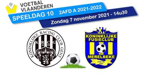 banner SPEELDAG 10 RAC GENT - KFCM