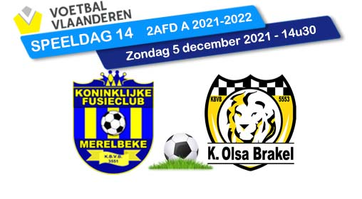 banner SPEELDAG 14 KFCM - OLSA BRAKEL