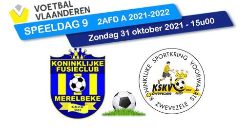 banner SPEELDAG 9 KFCM - Zwevezele