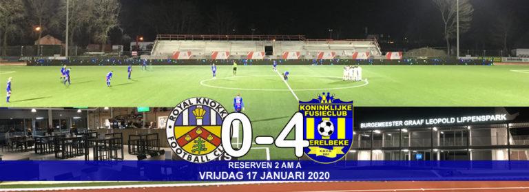 Reserven winnen met 0-4 op R Knokke FC