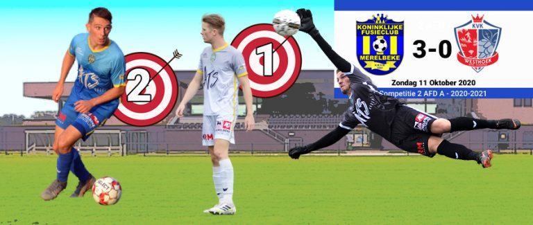 Twee gezichten en drie goals tegen KVK Westhoek