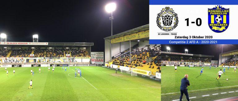Gevleide winst voor Lokeren Temse (1-0)