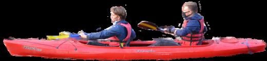 cutout kayak jordy en dean klein