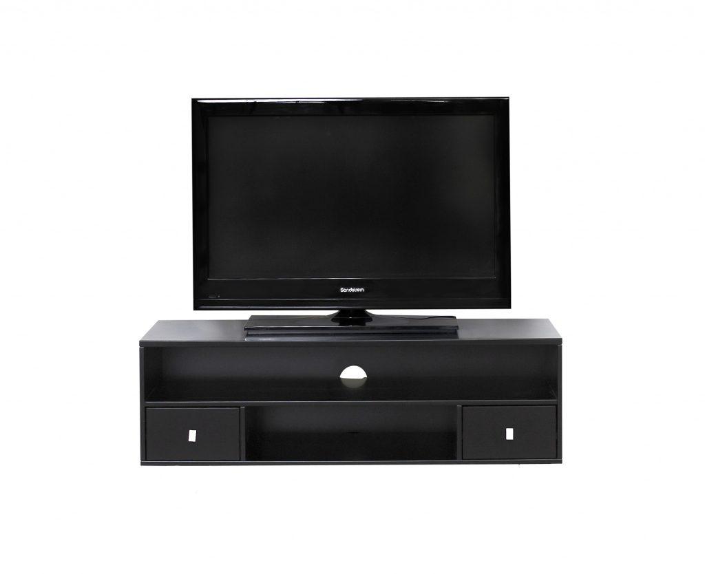 TV-bord model 01 i sort (Denne model kan ikke laves om i byggeprogrammet)