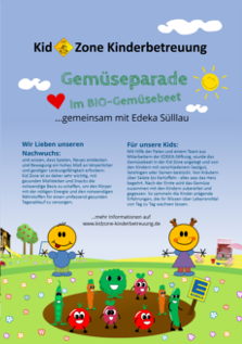 Kid Zone Kita Bio Gemuesebeet Vorschau - Kita Kid Zone Kinderbetreuung für 0-3 Jahre in Jersbek