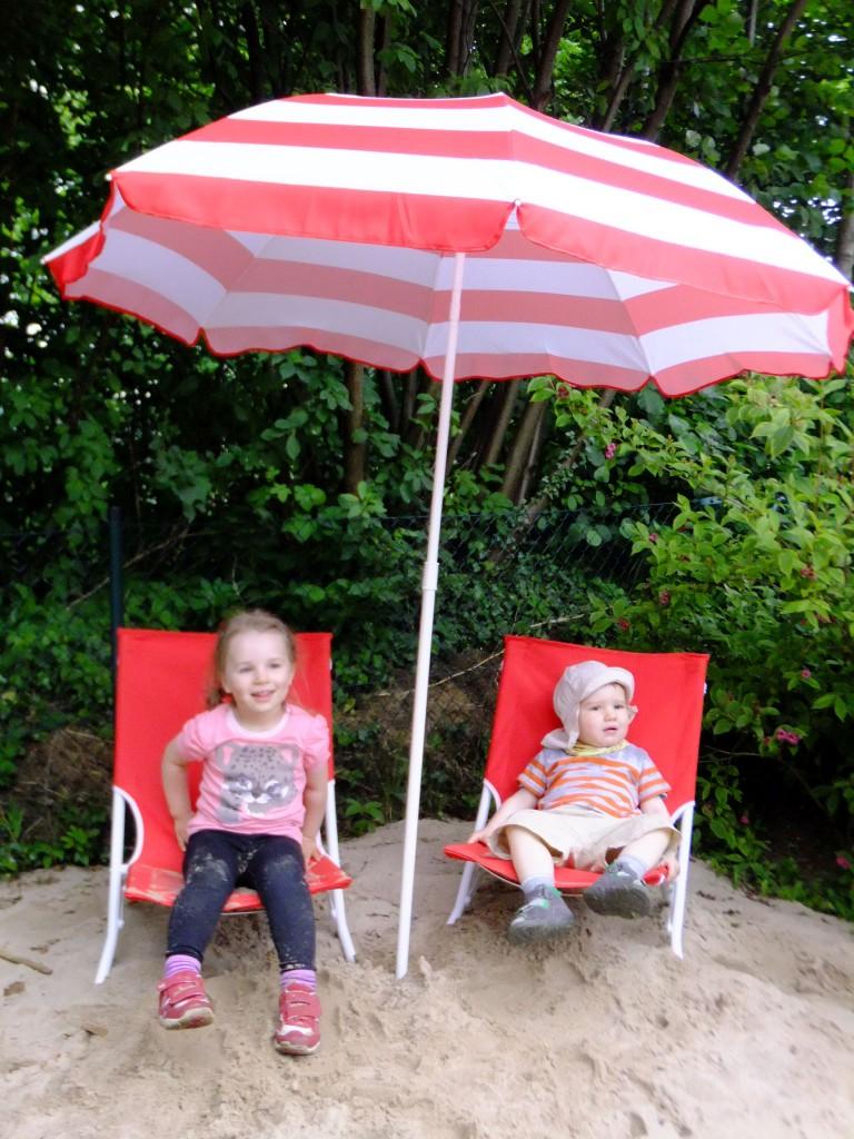 Strandkorb Strandliege Kid Zone KInderbetreuung 3 - Strandkorb und Strandliegen