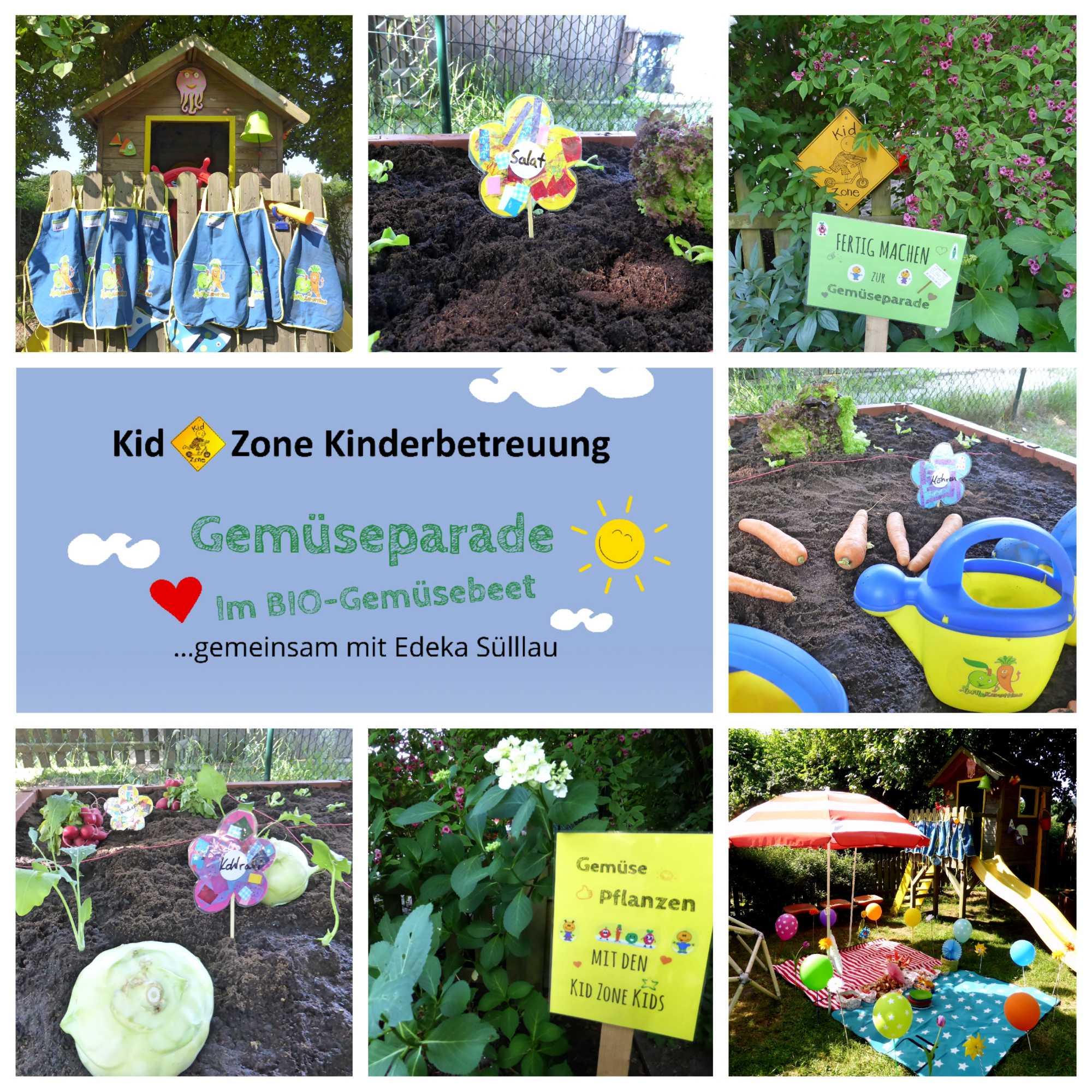 Kid Zone Aktion Gemüsebeet Bepflanzung 2018 - Naturerlebnisse und Ausflüge