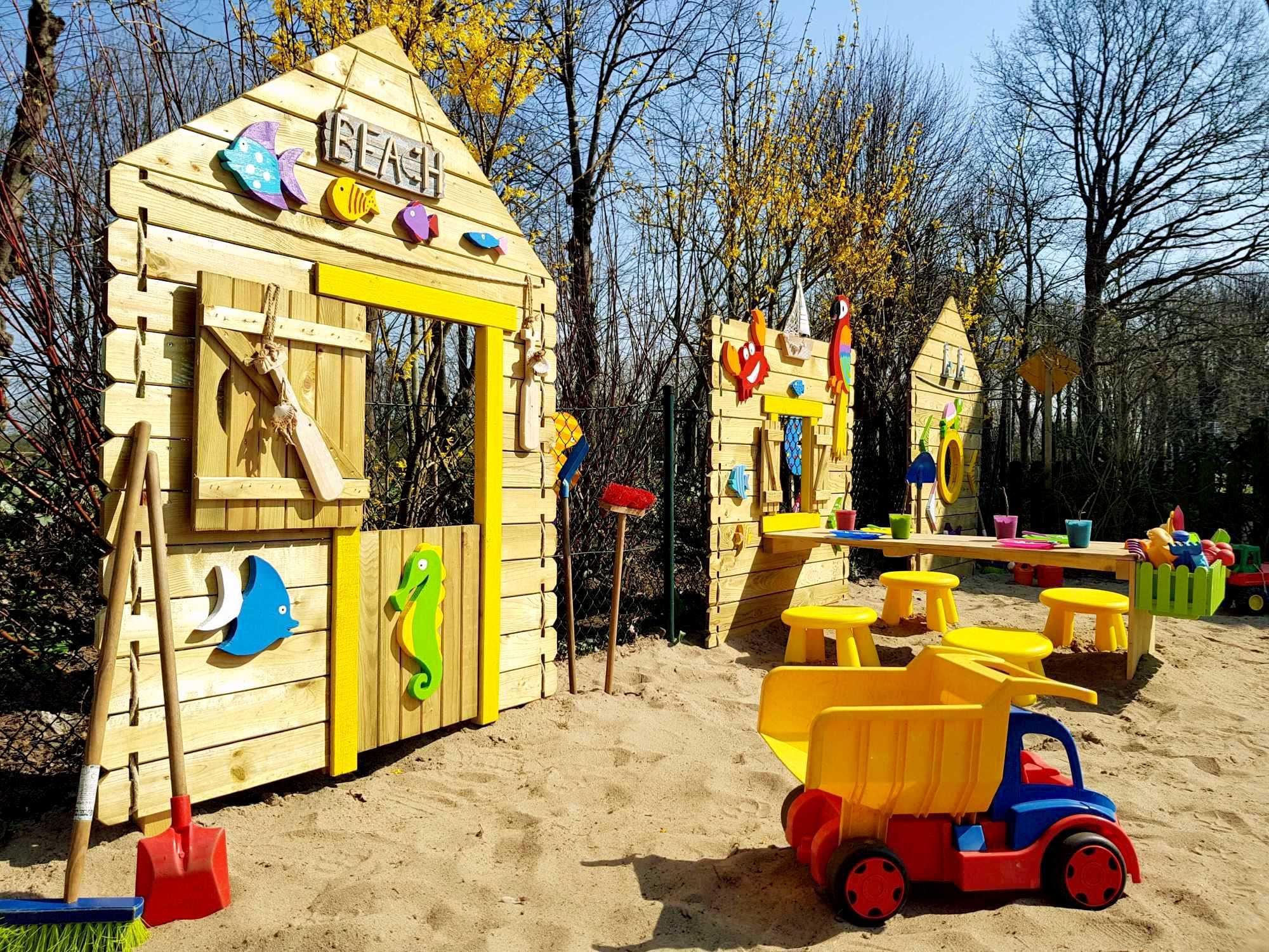 Kita Kid Zone Kinderbetreuung Garten 1 4 - Obst- und Erlebnisgarten