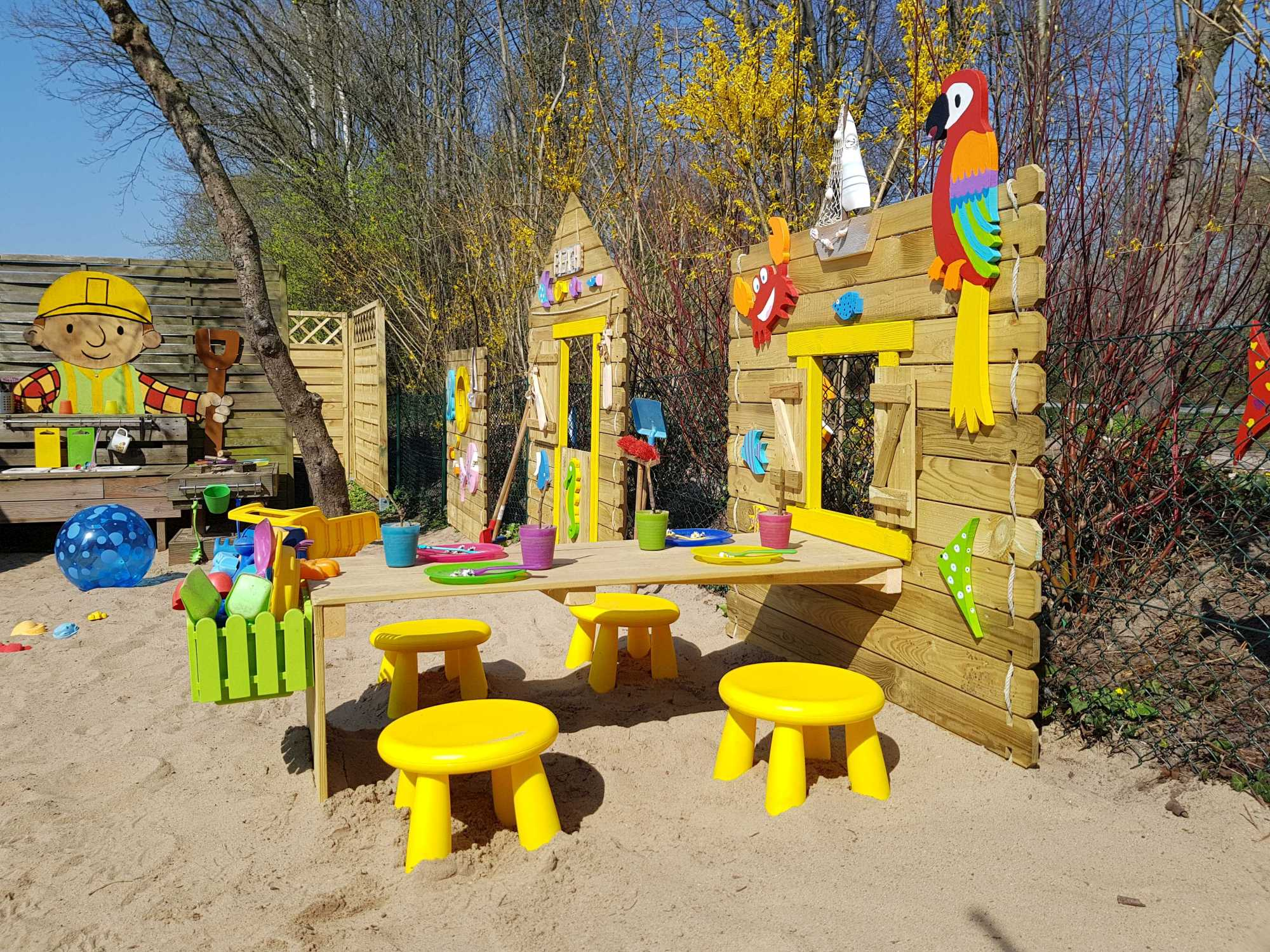 Kita Kid Zone Kinderbetreuung Garten1 14 - Kinder-Beachclub