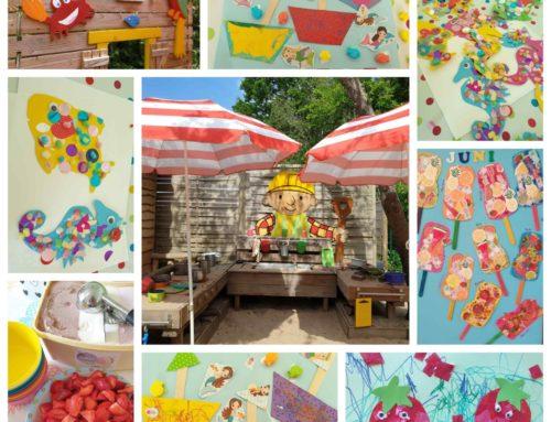 Fröhlicher Juni-Sommer