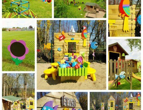 Frühling und Sommer im Kid Zone Garten 2021