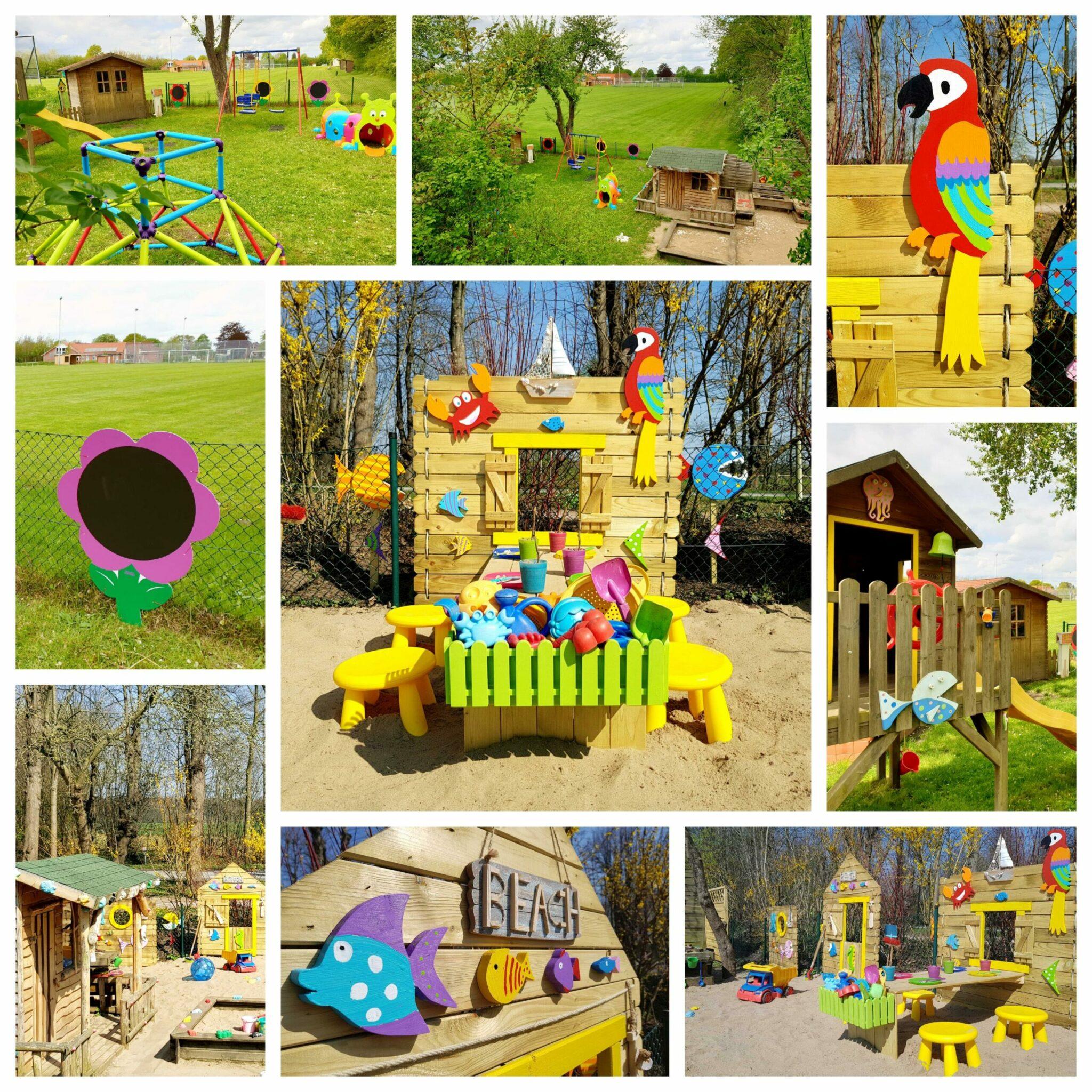 Frühling und Sommer im Kita Kid Zone Erlebnisgarten 2021