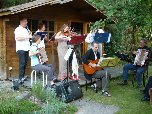 KiezKlezmer beim Musikfest am 1.9.2012