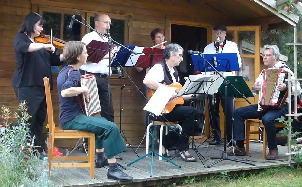 KiezKlezmer am 30.8.2014 beim Musikfest in Mahlsdorf-Süd