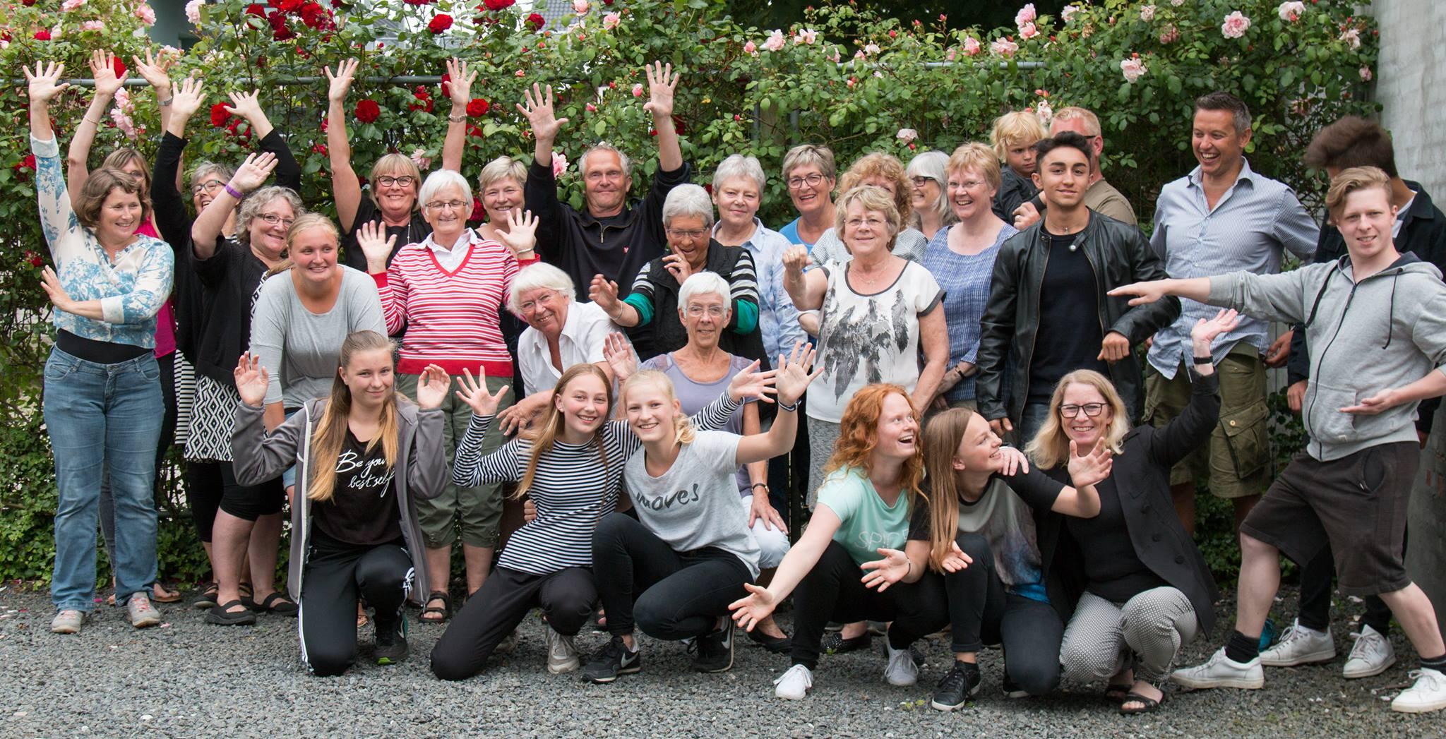 Instruktører og hjælpeinstruktører i KIF Fredericia