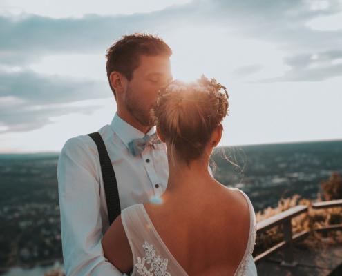 Lena und Marcel Hochzeit am Drachenfels