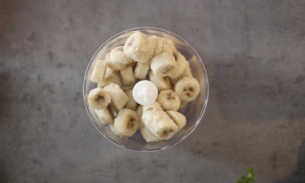 Banana Coconut Pecan Nice Cream