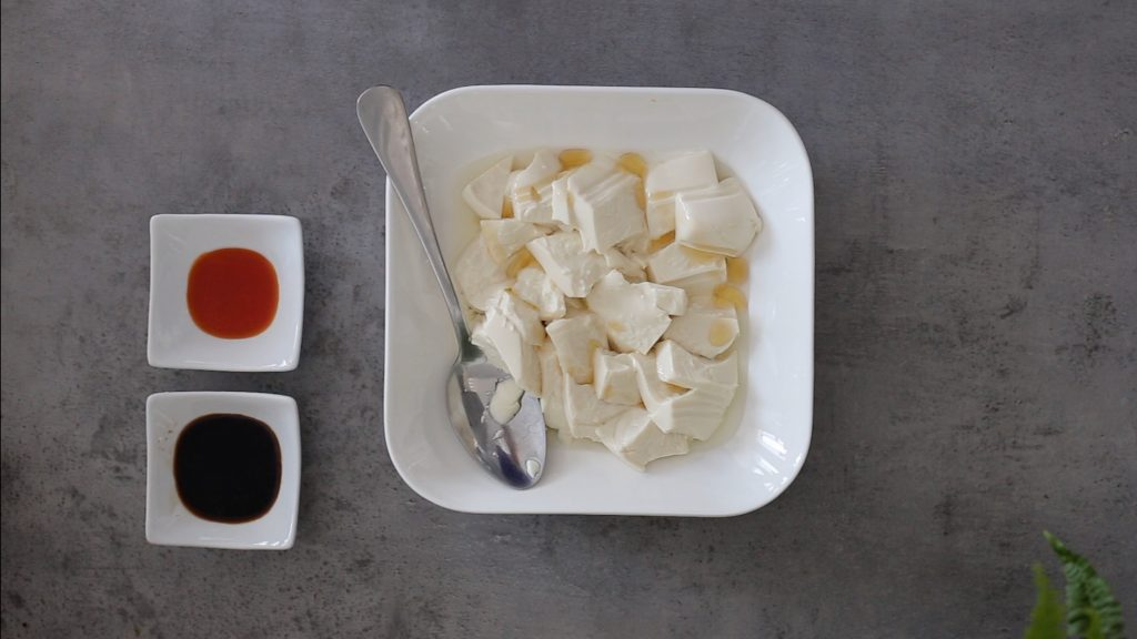 Sesame Chili Soy Silken Tofu